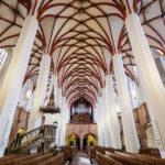 Innenansicht der Thomaskirche in Leipzig
