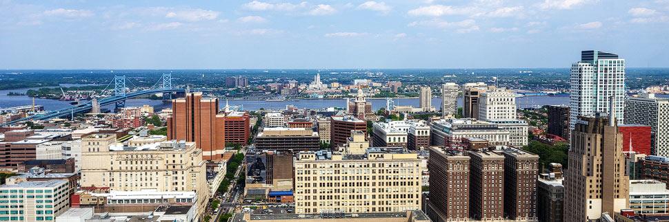 Aussicht von Loews Philadelphia Hotel