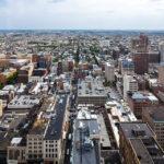 Ausblick von Loews Philadelphia Hotel auf die Stadt
