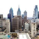 Ausblick von Loews Philadelphia Hotel auf die Skyline