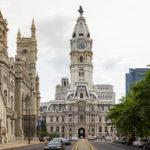 Außenansicht des Rathauses (City Hall) in Philadelphia