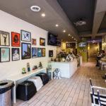Innenansicht des Happily Ever After Dessert Café in Philadelphia