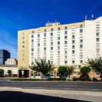 Außenansicht des Holiday Inn Express Hotel Philadelphia Penns Landing