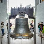 Die Liberty Bell in Philadelphia