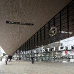 Außenansicht des Rotterdamer Hauptbahnhofs Centraal