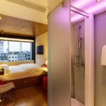 Zimmer im citizenM Hotel Rotterdam