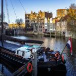 Der historische Delfshaven in Rotterdam