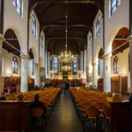 Innenansicht der Pilgerkirche Pelgrimvaderskerk in Rotterdam