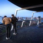 Aussichtsplattform auf dem Euromast in Rotterdam