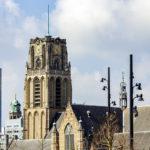 Außenansicht der Laurenskerk in Rotterdam