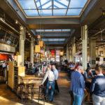 Innenansicht des Café im Hotel New York in Rotterdam