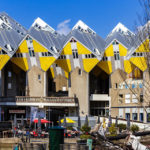 Die Kubushäuser und der Oude Haven in Rotterdam