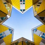 Die Kubushäuser in Rotterdam