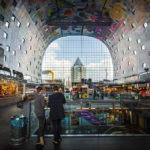 Innenansicht der Markthalle von Rotterdam