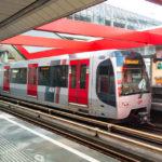 Die Metro von Rotterdam