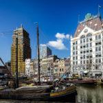 Der Oude Haven und das Witte Huis in Rotterdam