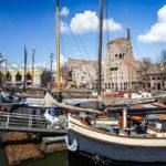 Der Oude Haven und die Kubushäuser in Rotterdam