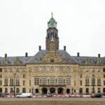 Außenansicht des Stadhuis (Rathaus) von Rotterdam