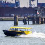 Die Wassertaxis von Rotterdam