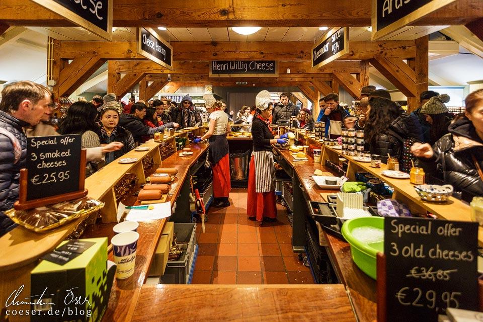 Verkaufsraum Kaasmakerij (Käserei) in Zaanse Schans