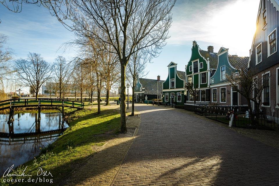 Freilichtmuseum und Windmühlen von Zaanse Schans