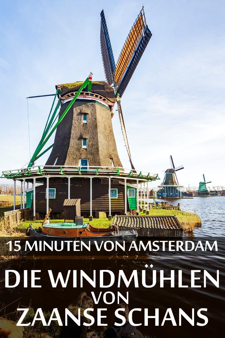 Zaanse Schans: Reisebericht mit allen Windmühlen, Sehenswürdigkeiten, den besten Fotospots sowie allgemeinen Tipps und Restaurantempfehlungen.