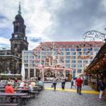 Der Altmarkt in Dresden