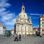 Außenansicht der Frauenkirche in Dresden