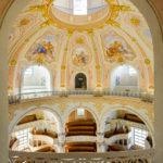 Innenansicht der Frauenkirche in Dresden
