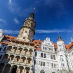 Der Hausmannsturm im Residenzschloss in Dresden