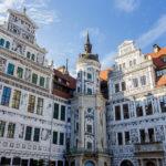 Der Innenhof des Residenzschlosses in Dresden