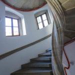 Wendeltreppe im Residenzschloss in Dresden