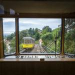 Blick in die Fahrerkabine der Standseilbahn in Dresden