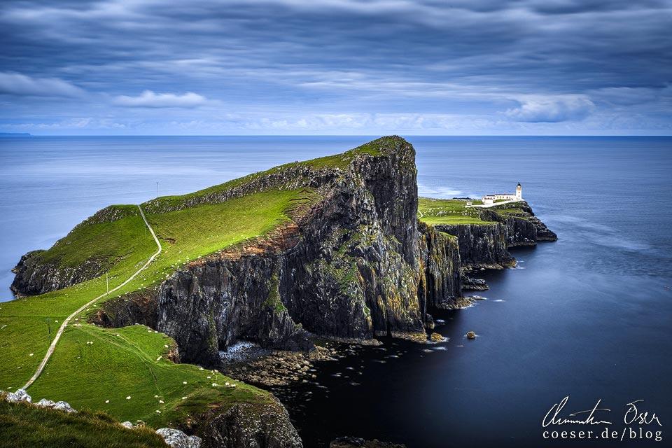 Leuchtturm Neist Point auf der Isle of Skye in Schottland