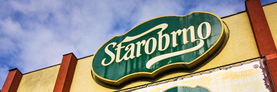 Logo der Brauerei Starobrno