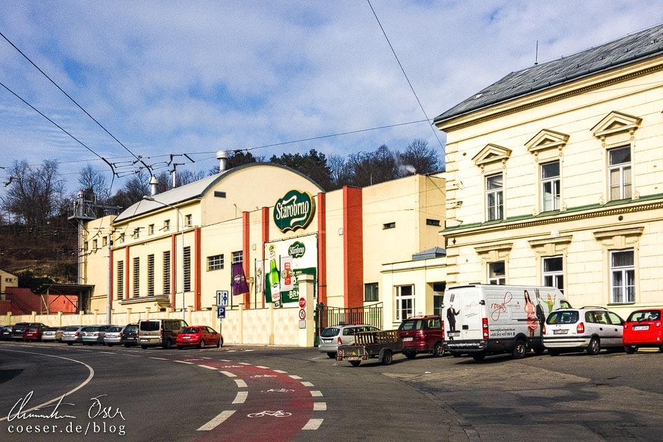 Brauerei Starobrno in Brünn