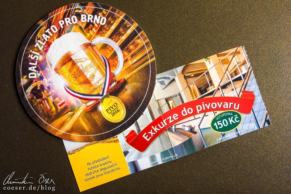 Ticket für eine Führung in der Brauerei Starobrno in Brünn