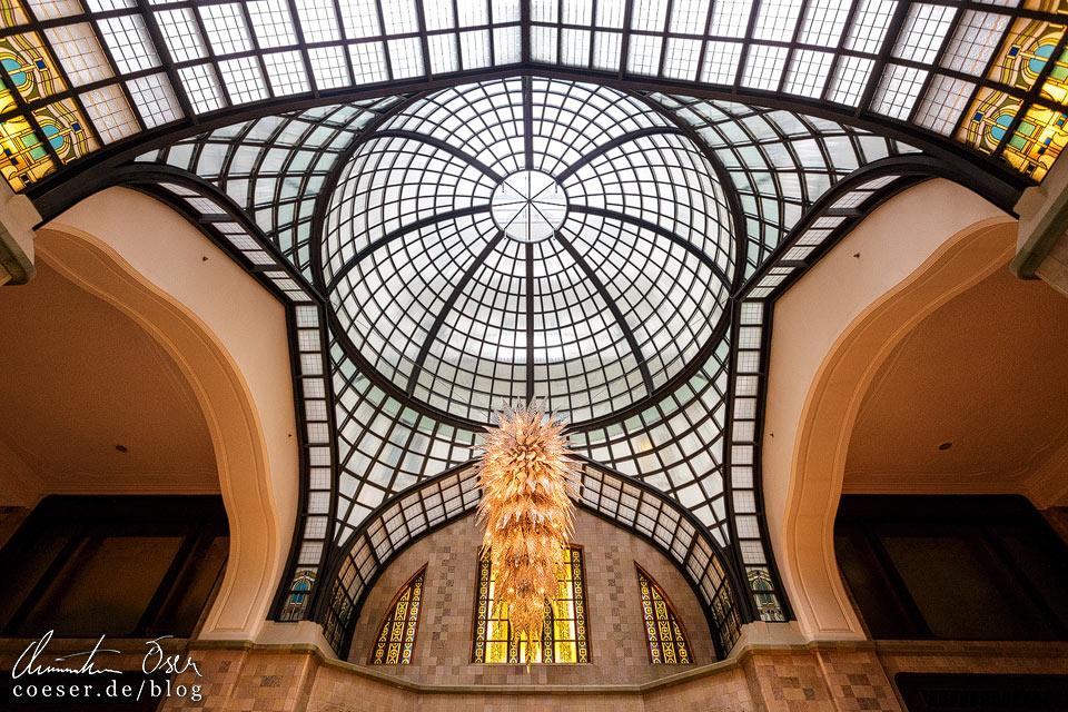 Jugendstilgebäude Gresham-Palast in Budapest