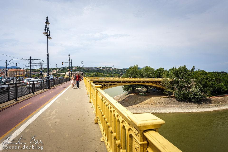 Margaretenbrücke und Margareteninsel in Budapest