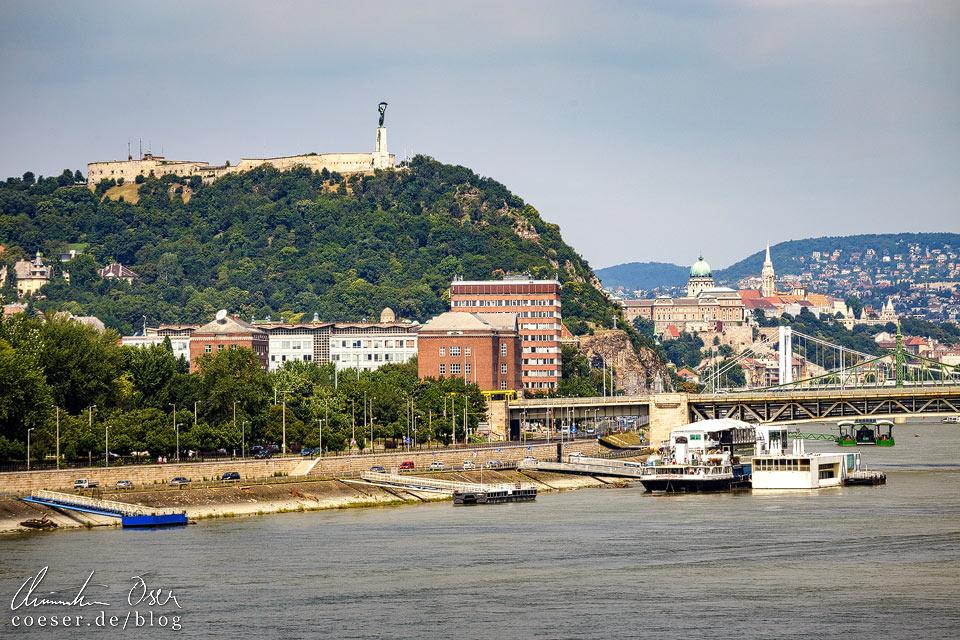 Ausblick auf Budapest vom MÜPA Budapest (Palast der Künste)