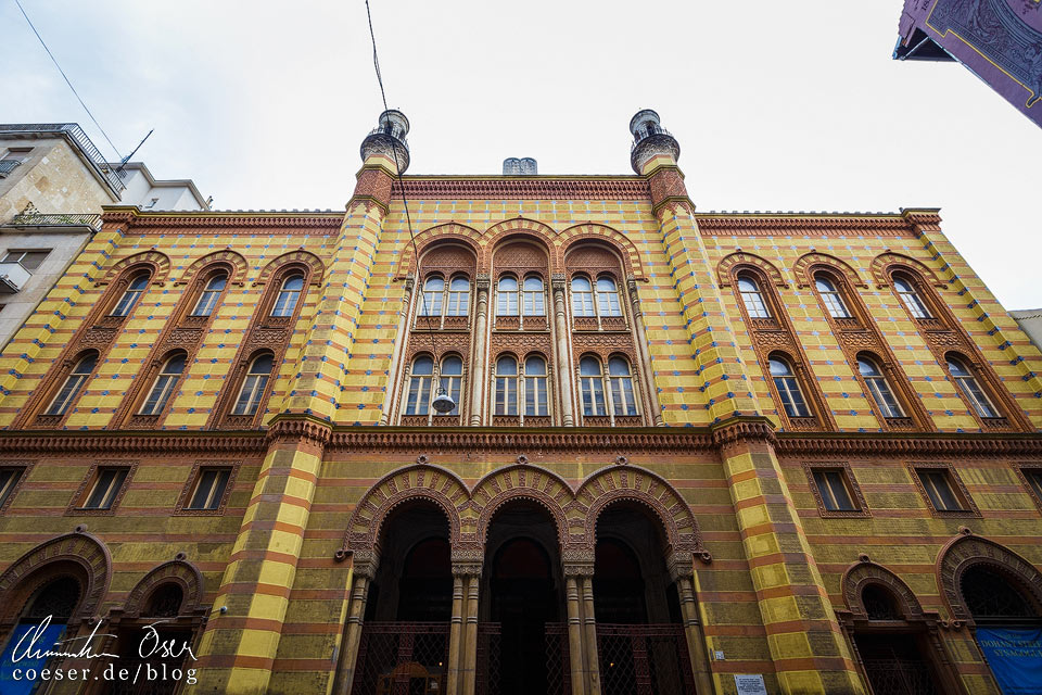 Rumbach-Synagoge in Budapest