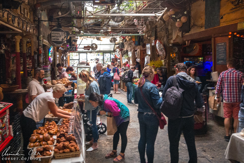 Bauernmarkt im Szimpla Kert Ruinenpub