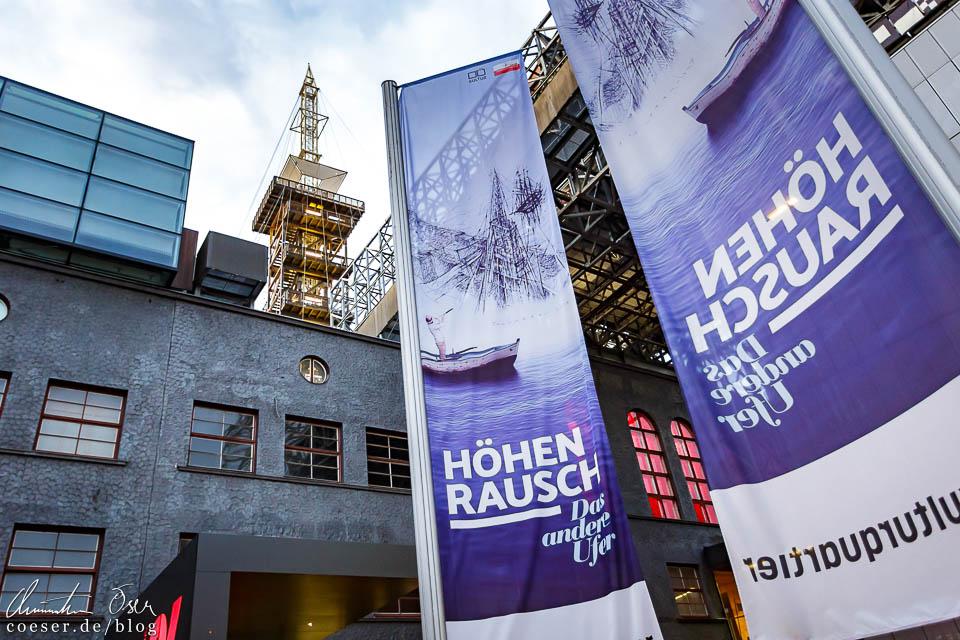 Eingang zum Höhenrausch 2018 in Linz