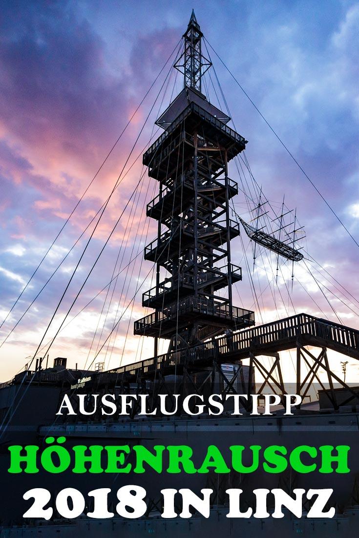 Höhenrausch 2018 in Linz: Erfahrungsbericht mit Fotos der besten Kunstwerke, den schönsten Aussichtspunkten und allgemeinen Tipps
