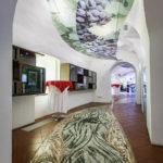 Das größte Bodenmosaik in Slowenien im Haus der alten Rebe