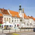 Rathaus auf dem Hauptplatz von Maribor