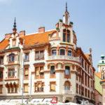 Historisches Haus auf dem Hauptplatz von Maribor