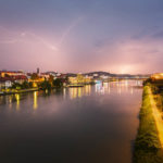 Gewitterstimmung in Maribor