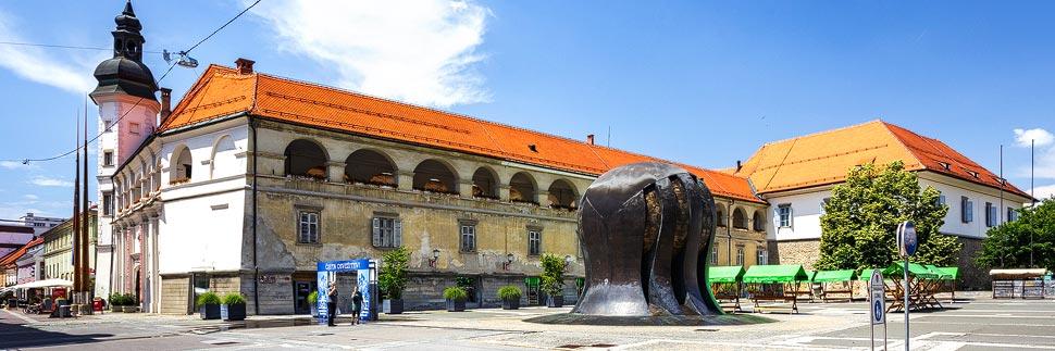 Das Schloss in Maribor