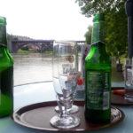 Ausblick vom Café beim Wasserturm in Maribor